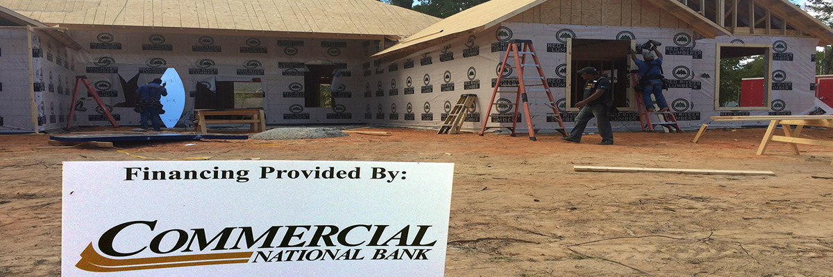 Financial Provided By - Commercial National Bank - Mortgages